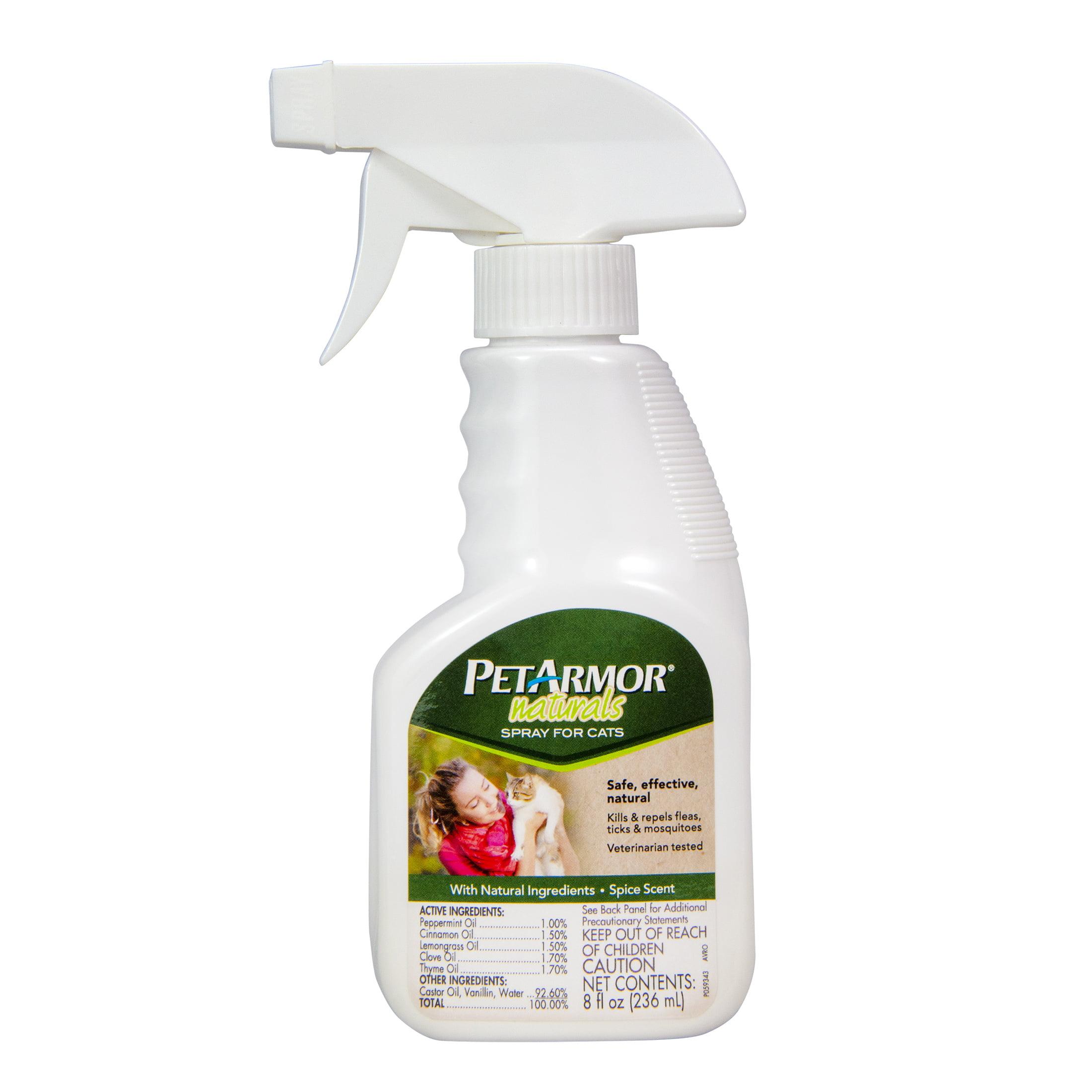 peppermint spray for cat fleas