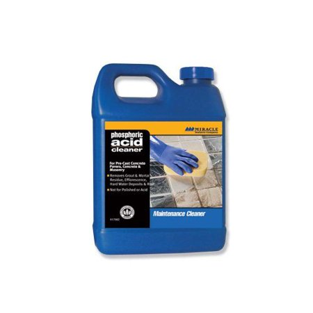 Phosphoric Acid Cleaner - Miracle Sealants PHOS QT SG Phosphoric Acid Cleaner, Quart