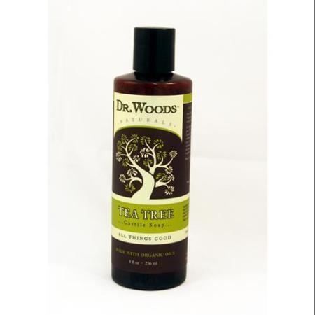 Dr. Woods Shea Vision Pure Castile Soap Tea Tree 8 fl oz