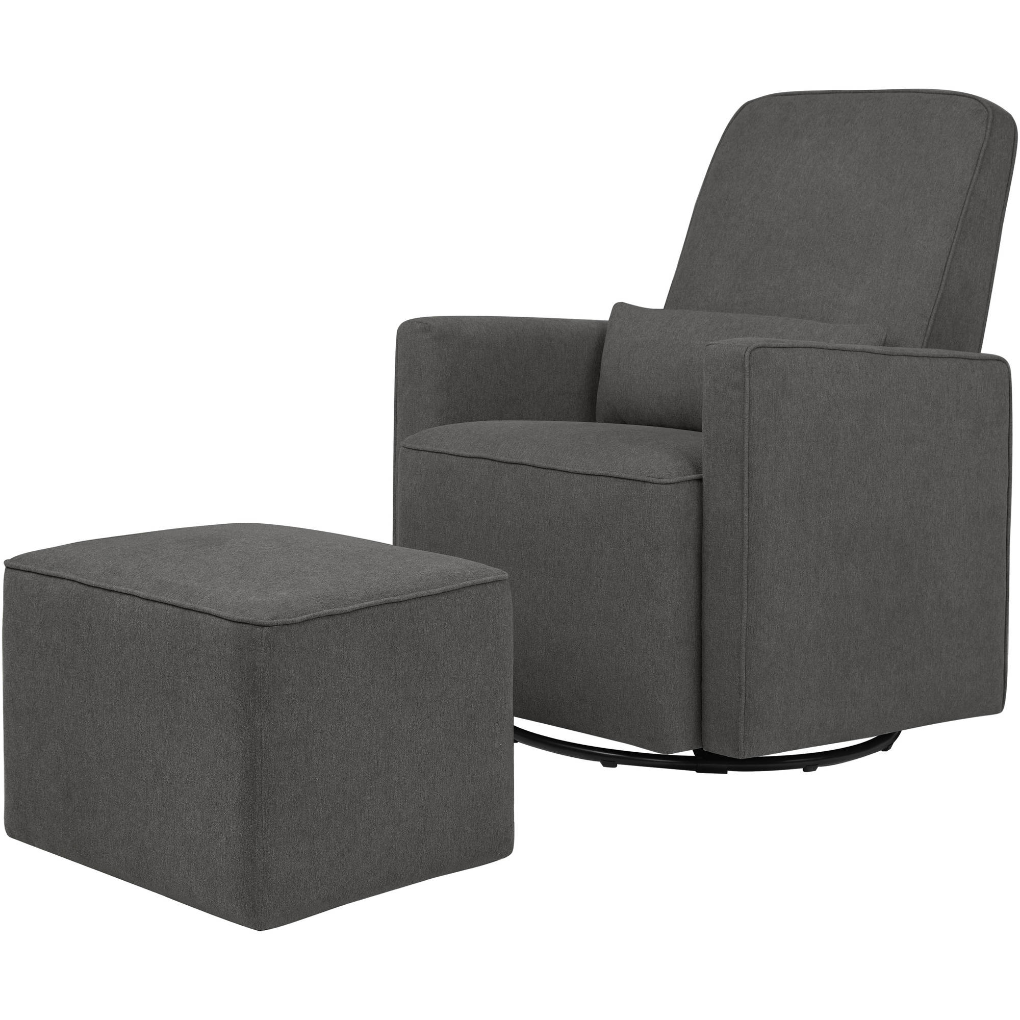 DaVinci Olive Glider and Ottoman, Dark Grey by The MDB Family