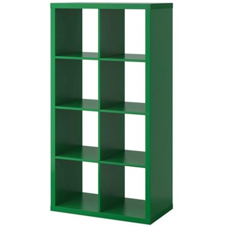Ikea Kallax Bookcase Shelving Unit Display Green102142281814