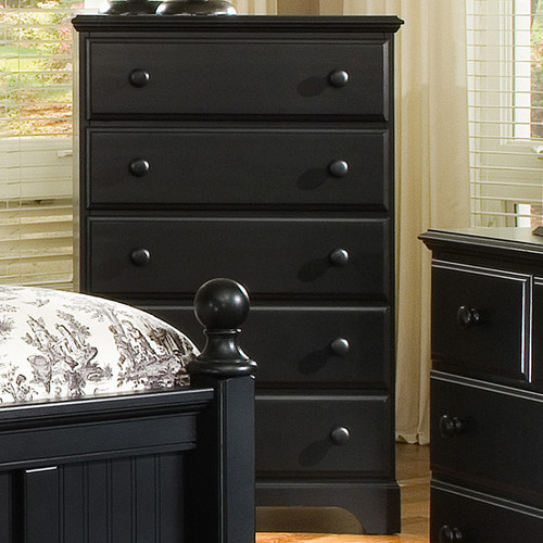 Carolina Furniture Works, Inc. Midnight 5 Drawer Chest