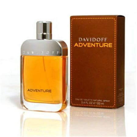 Davidoff Adventure Ademts34 3.4 Oz. Adventure & EDT Spray For Men - image 1 de 3