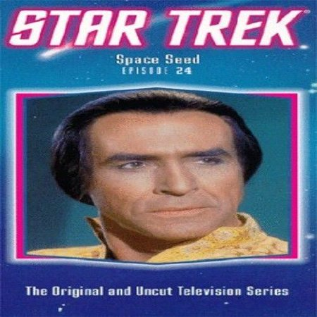 Star Trek - Space Seed [Import] [VHS Tape] [1966] - Space Vbs