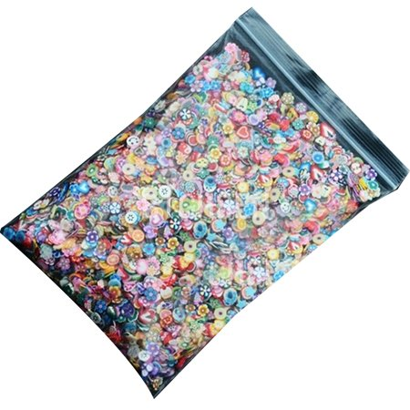 1000 PCS Nail Art 3d Fruit Feather Flowers Mix Projects DIY Nail Beauty Decorations Stickers - Diy Halloween Nail Art