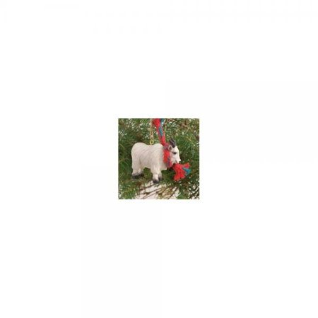 mountain goat christmas ornament go13