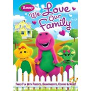 Barney: We Love Our Family by Trimark Home Video