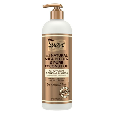 Herbal Cleanse Shampoo (Suave Professionals for Natural Hair Sulfate-Free Cleansing Shampoo 16.5)