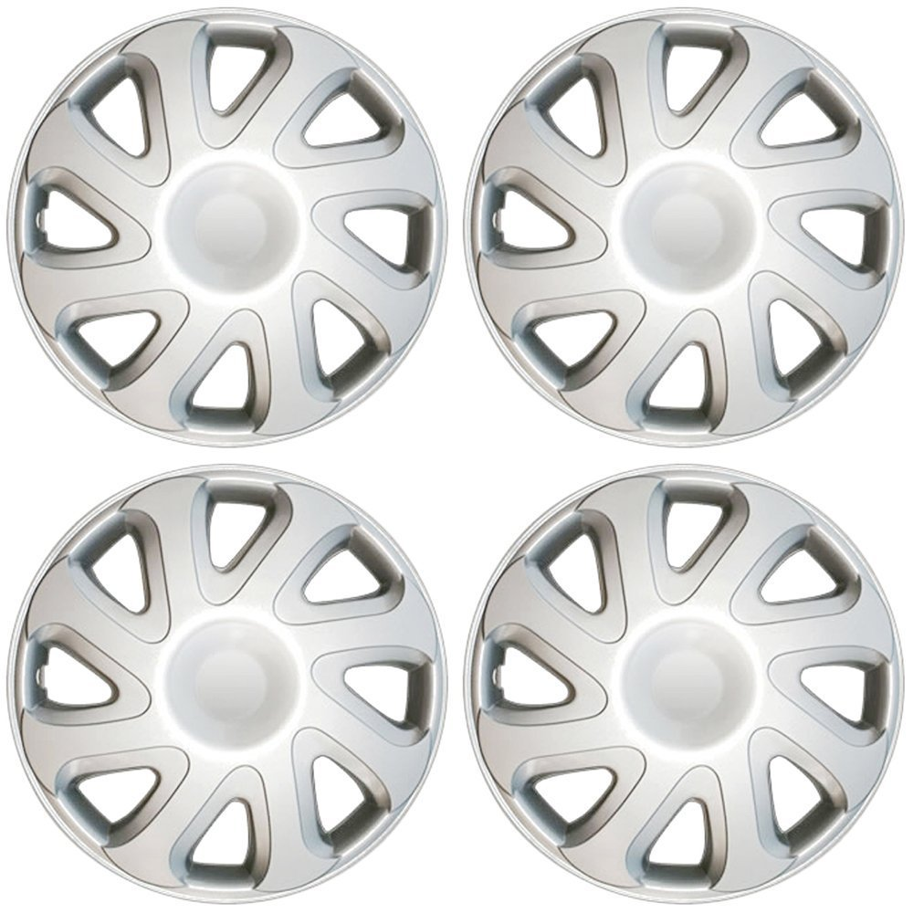 "OxGord 14"" inch Black Wheel Covers for Select Toyota Solara - Set of 4"
