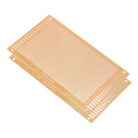 Printed Circuit Board Thickness - 9x15cm Single Sided Universal Paper Printed Circuit Board Thickness 1.2mm 2pcs