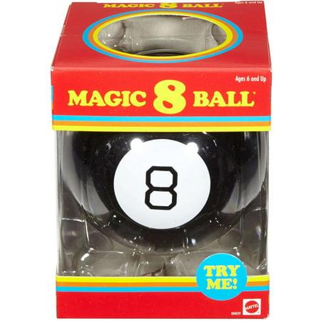 Adult Magic 8 Ball (Magic 8 Ball Retro Edition Novelty Fortune-Telling)