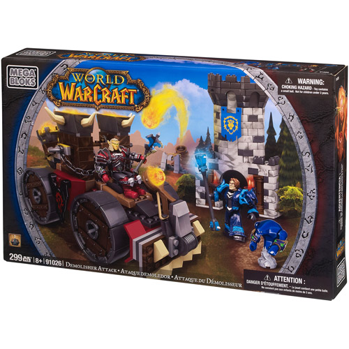 Mega Bloks World of Warcraft Demolisher Attack Play Set