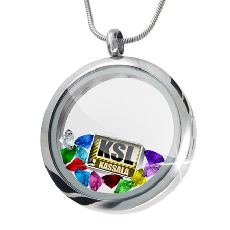Floating Locket Set Airportcode Ksl Kassala   Neonblond