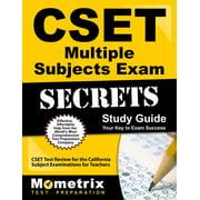 Mometrix Secrets Study Guides: Cset Multiple Subjects Exam Secrets Study Guide: Cset Test Review for the California Subject Examinations for Teachers (Paperback)