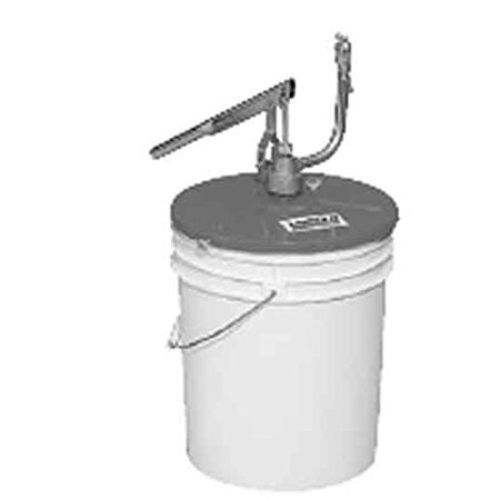 Bezel Filler - Lincoln Lubrication 1296 Filler Pump