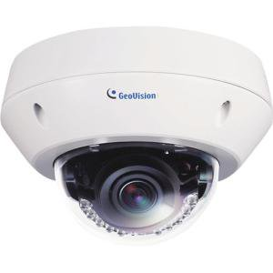 GeoVision GV-EVD2100 2 MP H.264 Super Low Lux WDR IR Vandal Proof IP Dome Camera