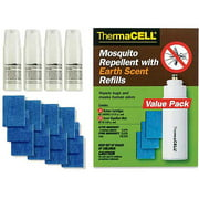 Thermacell Mosquito Repellent Earth Scent Refill Value Pack