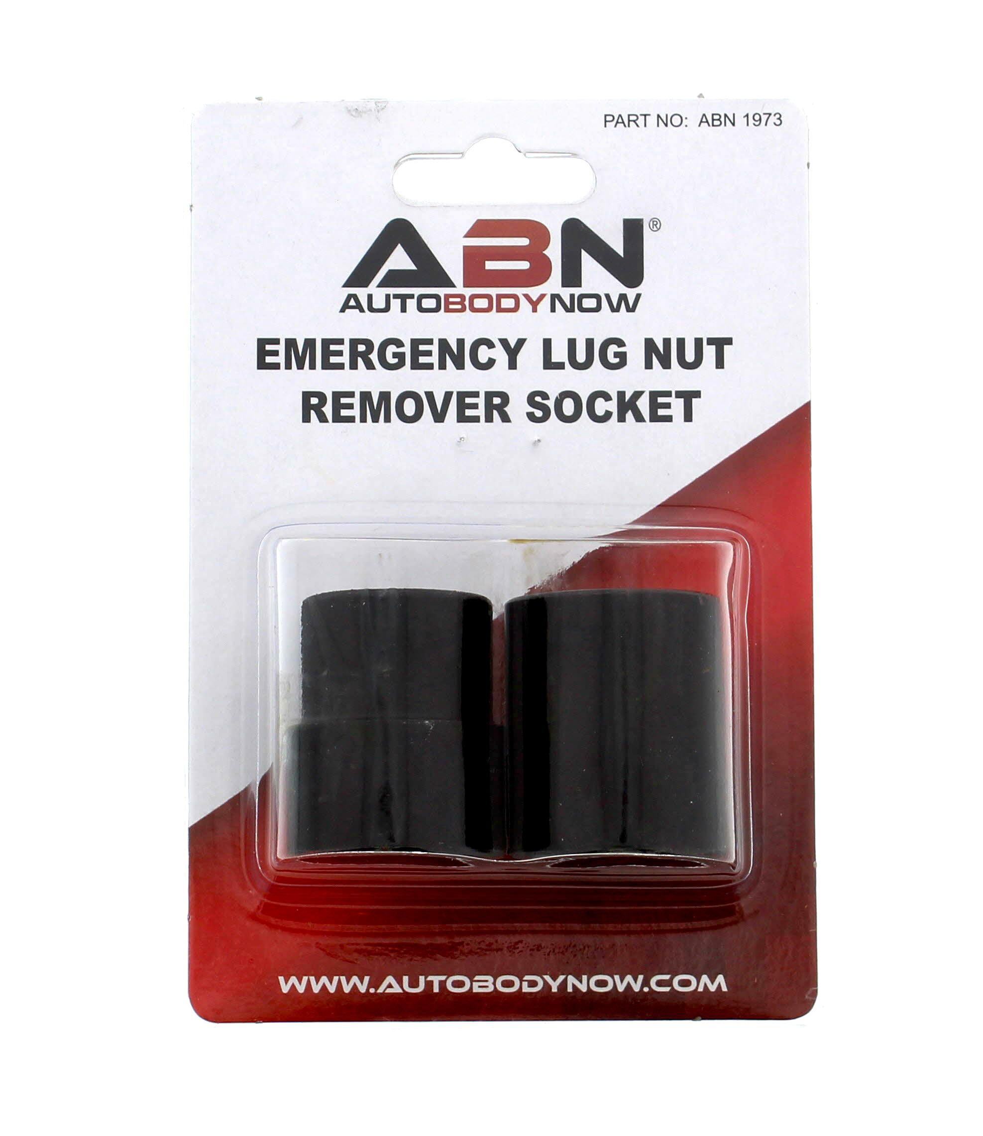 Abn Emergency Lug Nut Remover Socket Set For Stripped Lugnut Removal
