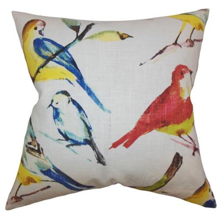 Down Pillows Animal Cruelty : The Pillow Collection Bara Animal Feather and Down Filled Throw Print Pillow - Walmart.com