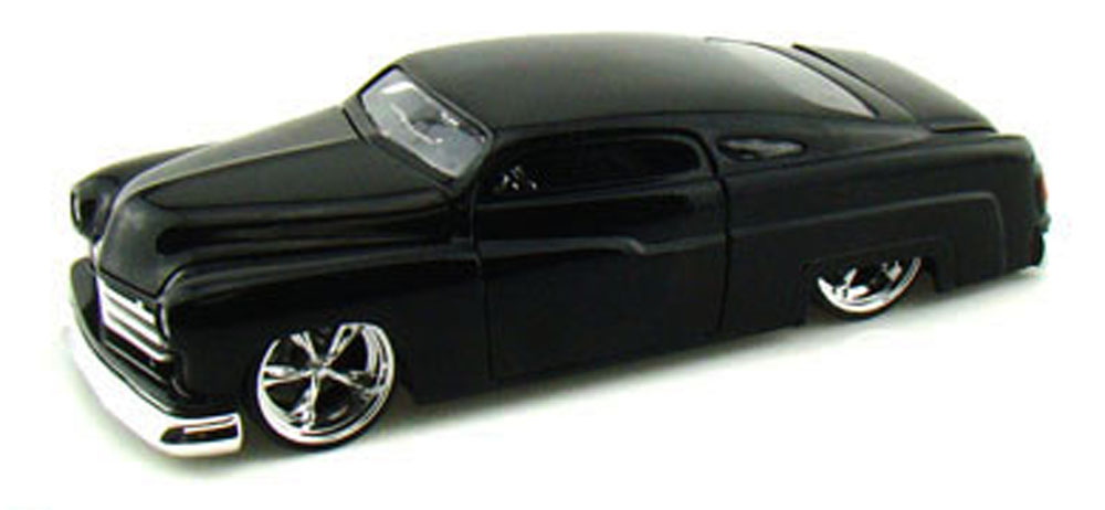 1951 Mercury, Black Jada Toys Bigtime Kustoms 91740 1 24 scale Diecast Model Toy Car... by Jada
