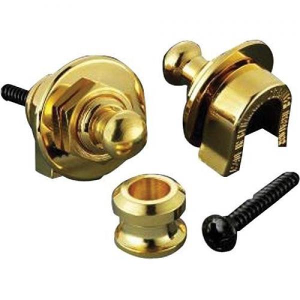 Schaller 14010501 Security Straplocks, Gold