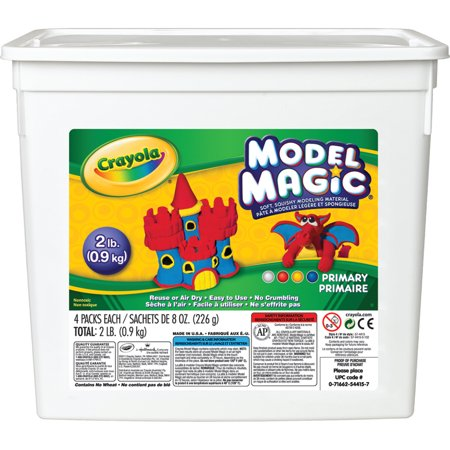 Crayola Model Magic Bucket Color Set