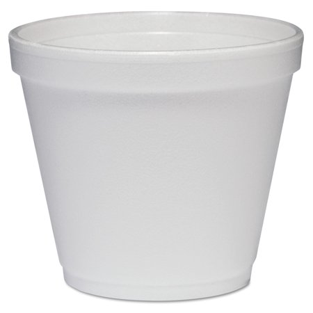 Dart White 8 oz. Foam Food Containers, 1000 count