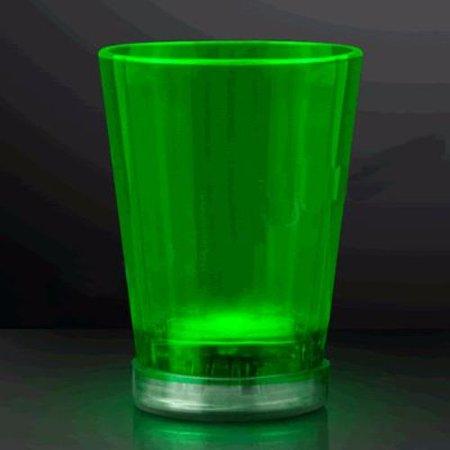 Light Up Shot Glass Green