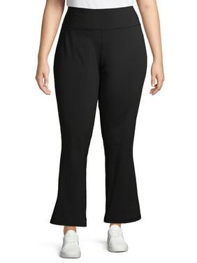Avia Women's Plus Size Active Wicking Straight Leg Pants