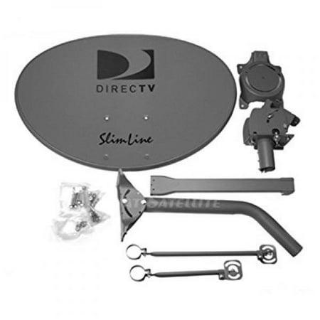 DIRECTV SLSPF SlimLine SLSPF / SL5S 5 Satellite Dish Antenna (Discontinued by (Directv Stuck On Searching For Satellite Signal)