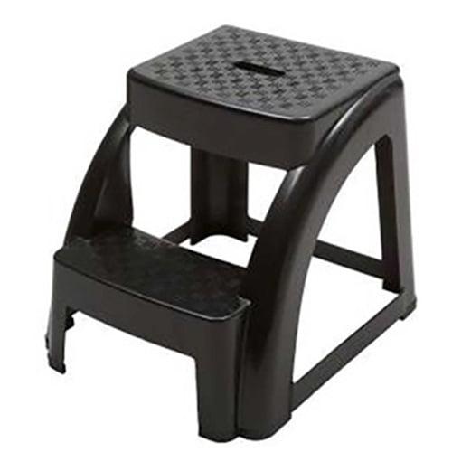 Excellent 2 Step 300 Pound Capacity Durable Utility Step Stool Black Walmart Com Pabps2019 Chair Design Images Pabps2019Com