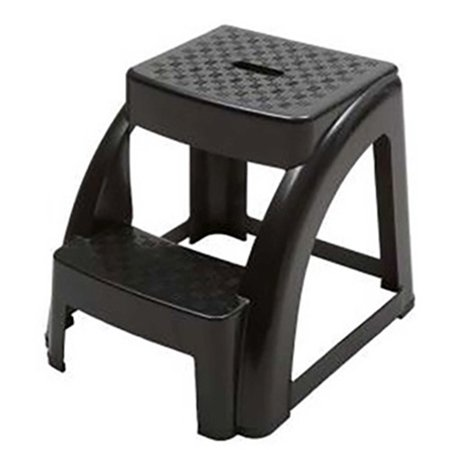 2-Step 300 Pound Capacity Durable Utility Step Stool - Black - Batman Step By Step
