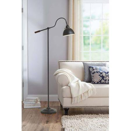 Better Homes And Gardens Adjustable Arm Metal Floor Lamp