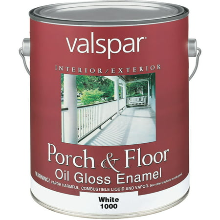 Valspar Interior And Exterior Oil Porch & Floor Enamel