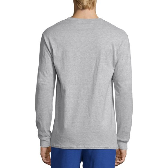 48903ce1 Hanes - Hanes Men's Premium Beefy-T Long Sleeve T-Shirt, up to 3xl ...