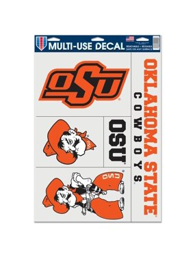 Oklahoma State Cowboys WinCraft 11'' x 17'' Ultra Window Cling Sheet