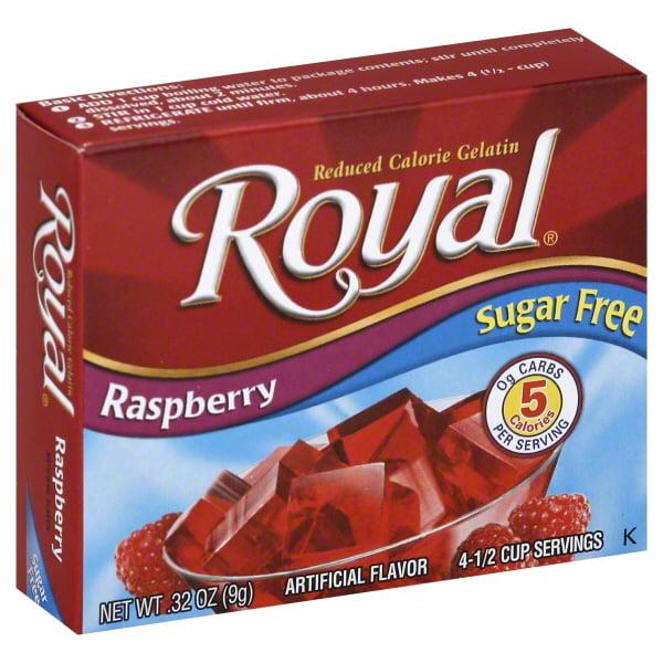 Jel Sert Co. Raspberry Sugar/free