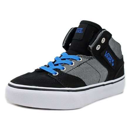 Vans Brooklyn Youth  Round Toe Canvas Black Sneakers for $<!---->