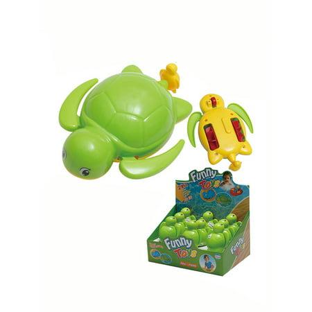 Bert The Turtle Swimming Pool Toy - Bathtub Animals Wind Up