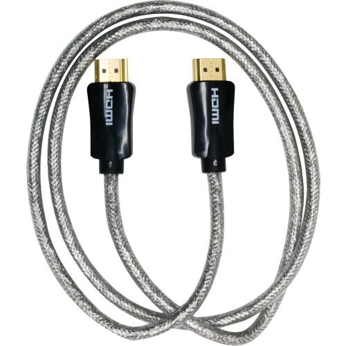Ge Hdmi Cable, 3 Ft Ultra Pro With Ethernet Clear - Hdmi For Audio/video Device, Tv, Satellite Equipment, Gaming Console, Digital Video Recorder - 3 Ft - Hdmi [type A] Digital Audio/video - (24204)