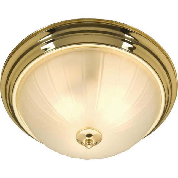 Essentials - 583x-Flush Mount-Finish:Polished Brass