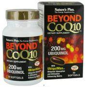 Nature's Plus Beyond CoQ10™ Uniquinol -- 200 mg - 30 Softgels