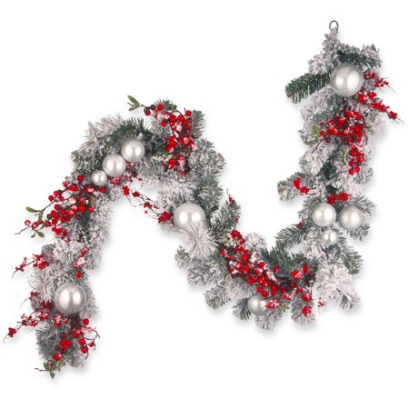 6' Christmas Garland](Christmas Mantle Garland)