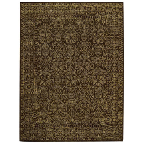 Capel Rugs Tonal Trace Brown Area Rug