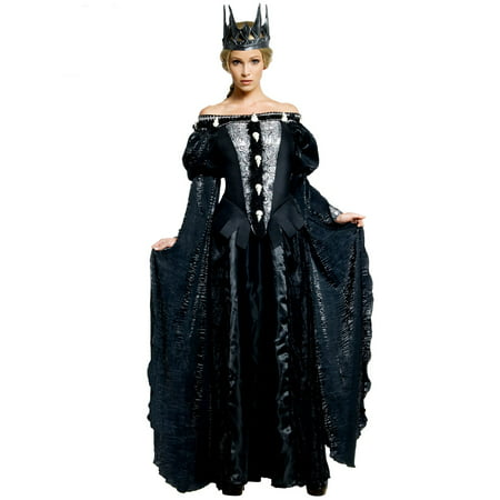 Deluxe Ravenna Skull Dress Costume for (Children's Book Character Costumes Ideas)