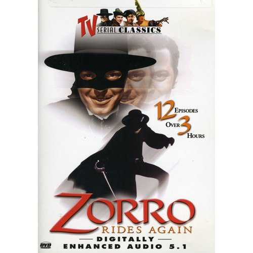 Zorro Rides Again (Full Frame)