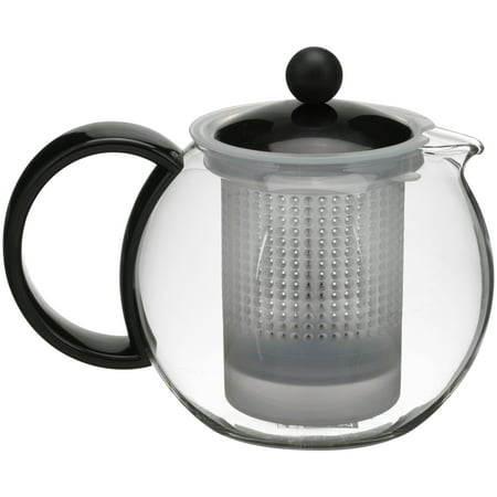 Bodum Assam Tea Press Black Lid Handle Ss Filter 05 L 17