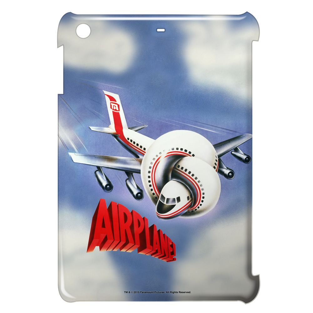 Airplane Poster Ipad Mini Case White Ipm