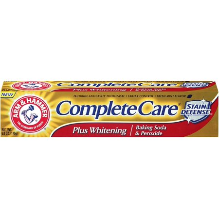 ARM & HAMMER Complete Care Stain Défense Plus Whitening Dentifrice menthe fraîche (6 oz pack de 3)