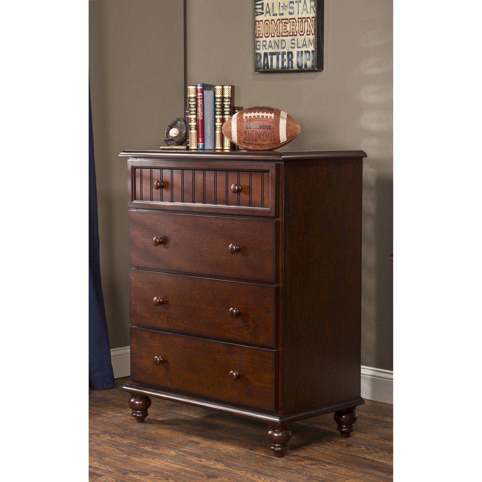Hillsdale Westfield 4 Drawer Chest - Espresso
